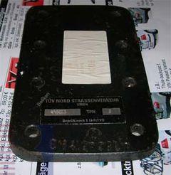 Absenkplatte f. Flanschkugel (Lochbild 83x 56mm)