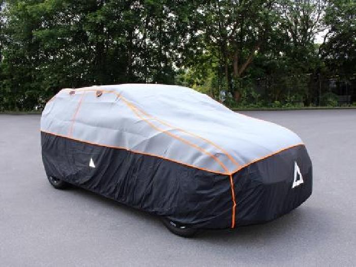 Nissan Navara 4-T Double Cab Bj. 2005-2015 Auto Schutzhülle-Hagelschutz, Basic
