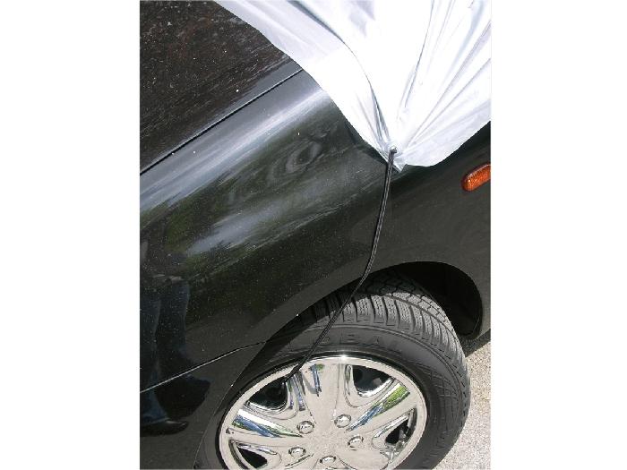 Toyota Hilux 4-T Double Cab Bj. 1998-2004 Auto Schutzhülle-Halbgarage, APA Premium