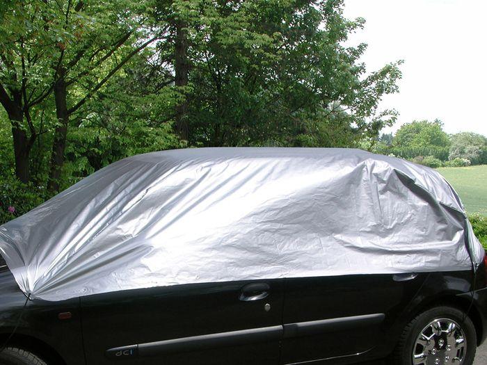 Honda Civic 5-T Kombi Bj. 2011-2017 Auto Schutzhülle-Halbgarage, Basic