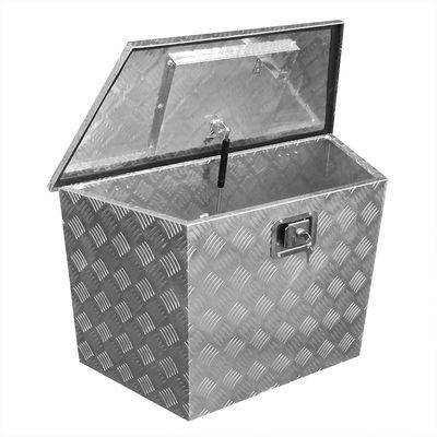 Deichselbox Alubox Staukasten, Werkzeugbox 830/540 x 360 x H490mm