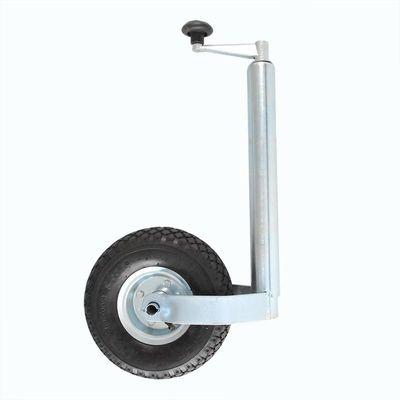 Stützrad 260x 85mm, Stahlfelge, mit Luftrad