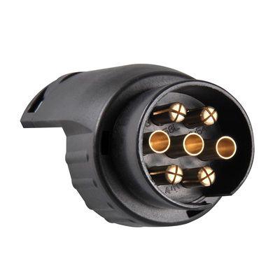 Adapter, Kurz, 7-polige Steckdose / Anhänger m. 13-poliger Stecker