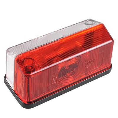 Begrenzungsleuchte rot/weiß 91x41mm (200er Pack)