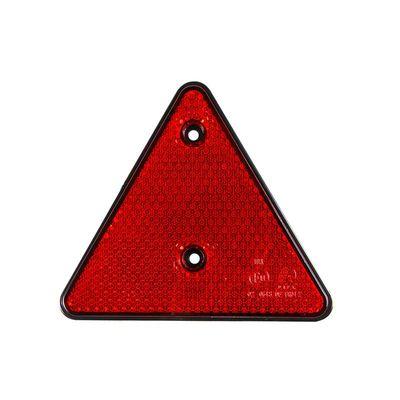 Rückstrahler Dreieck, rot, z. Schrauben (200er Pack)