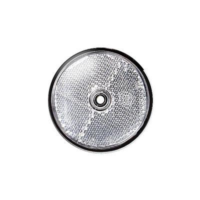 Frontstrahler rund 60 mm, weiss zum Schrauben (500er Pack)
