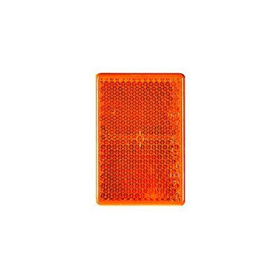 Seitenstrahler, eckig, 82x36 mm zum Kleben, gelb (500er Pack)