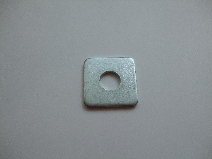 Unterlegscheibe Durchmesser 11,3 mm x 29,5, vierkant, vz, 1 Stk.