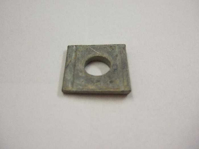 Unterlegscheibe Durchmesser 9 mm, vierkant, keilförmig, vz, 1 Stk.