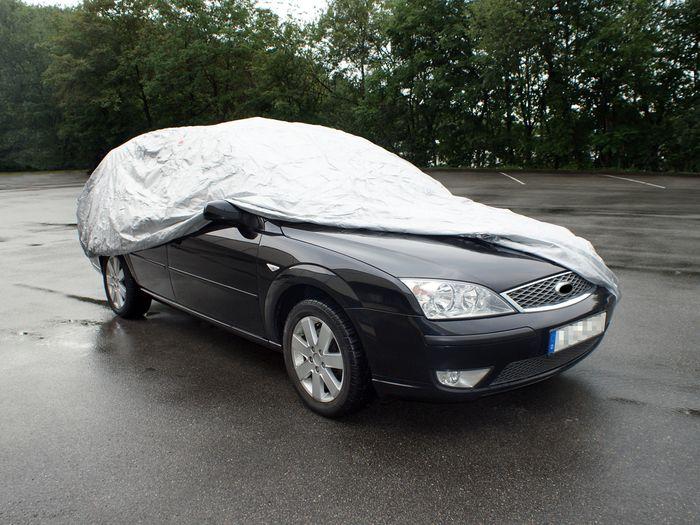 Mazda 3 5-T Fließheck Bj. 2009-2013 Auto Schutzhülle-Vollgarage, Basic