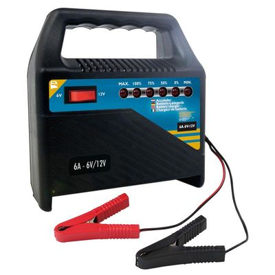 Batterie Ladegerät 6V/12V 6Amp. (10er Pack)