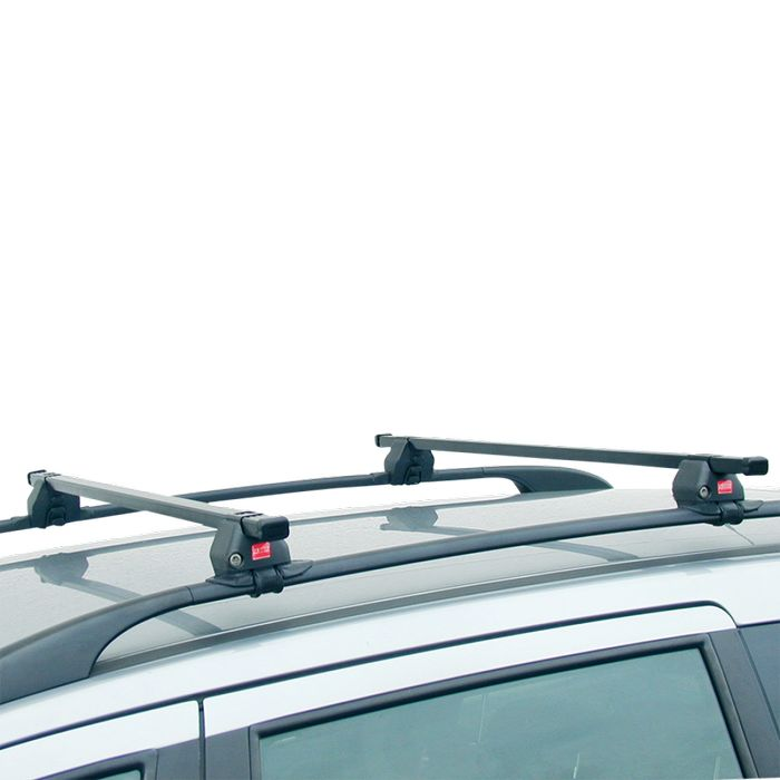 Fabbri Dachträger m. Stahlprofil f. VW Sharan, 5-T MPV Bj. 2010-, m. offener Reling