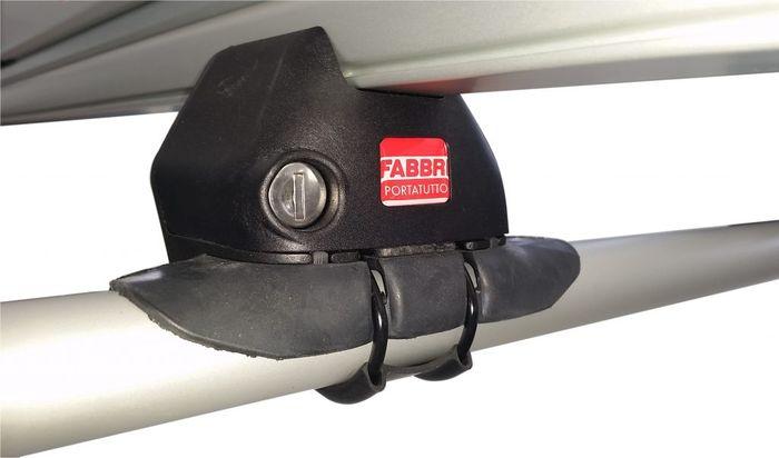 Fabbri Dachträger m. Stahlprofil f. Daewoo Nubira, 5-T Kombi Bj. 1997-2003, m. offener Reling