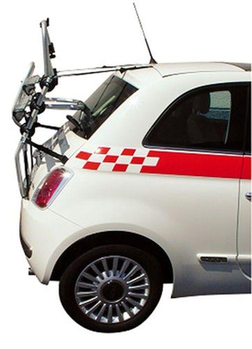Kia Stonic, 5-T SUV Bj. 2020-, Fabbri Fahrradträger f. 2 Fahrräder für Heckträger für Kia Kia Stonic, 5-T SUV Bj. 2020- Heckträger als 2er Fahrradträger