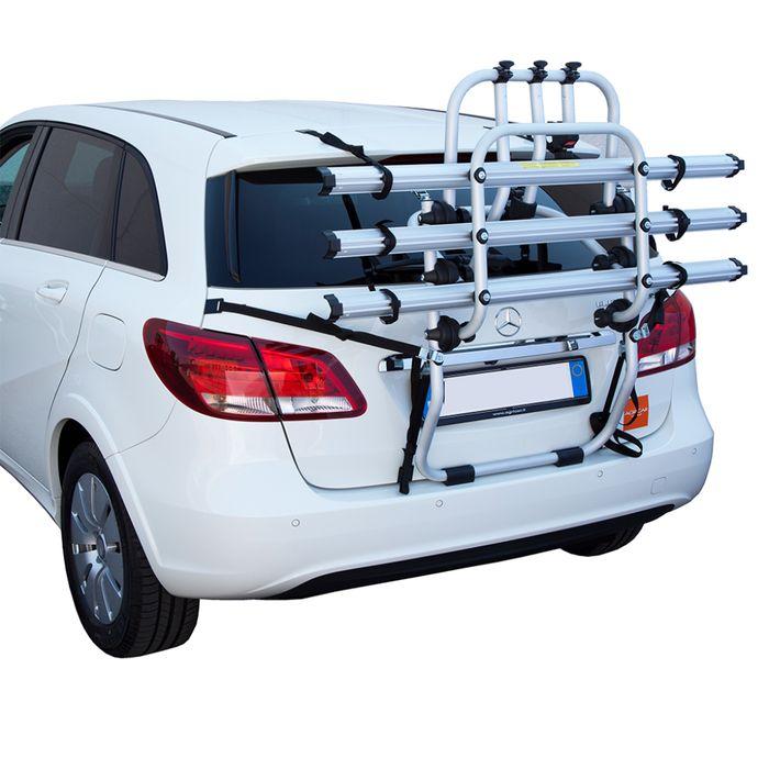 Opel Astra K Sportstourer, 5-T Kombi Bj. 2015-2019, Fabbri Fahrradträger f. 3 Fahrräder für Heckträger für Opel Opel Astra K Sportstourer, 5-T Kombi Bj. 2015-2019 Heckträger als 3er Fahrradträger