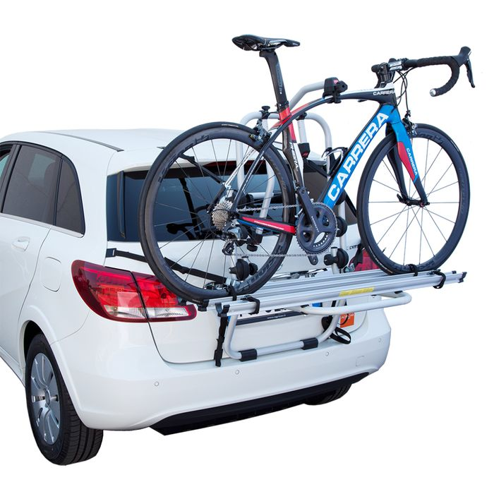 Kia Stonic, 5-T SUV Bj. 2020-, Fabbri Fahrradträger f. 3 Fahrräder für Heckträger für Kia Kia Stonic, 5-T SUV Bj. 2020- Heckträger als 3er Fahrradträger