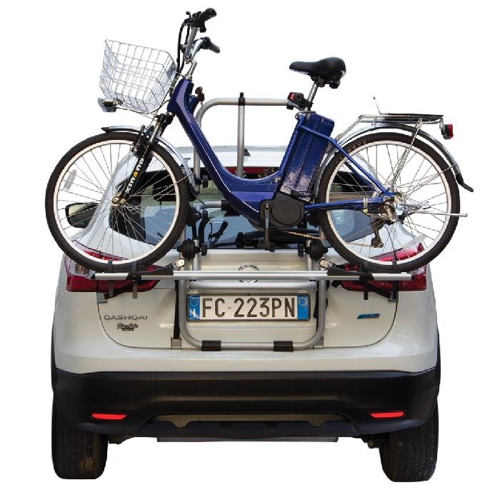 Opel Senator, 4-T Limousine Bj. 1987-1993, Fabbri Fahrradträger f. E- Bike- Elektrofahrrad