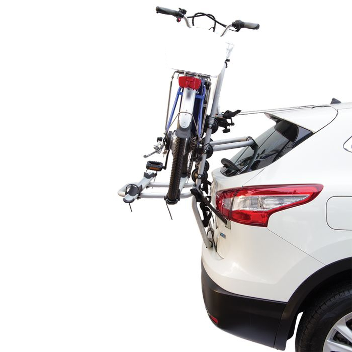 Kia Picanto, 5-T Fließheck Bj. 2017-, Fabbri Fahrradträger f. E- Bike- Elektrofahrrad für Heckträger für Kia Kia Picanto, 5-T Fließheck Bj. 2017- Heckträger als 2er E-Bike Träger