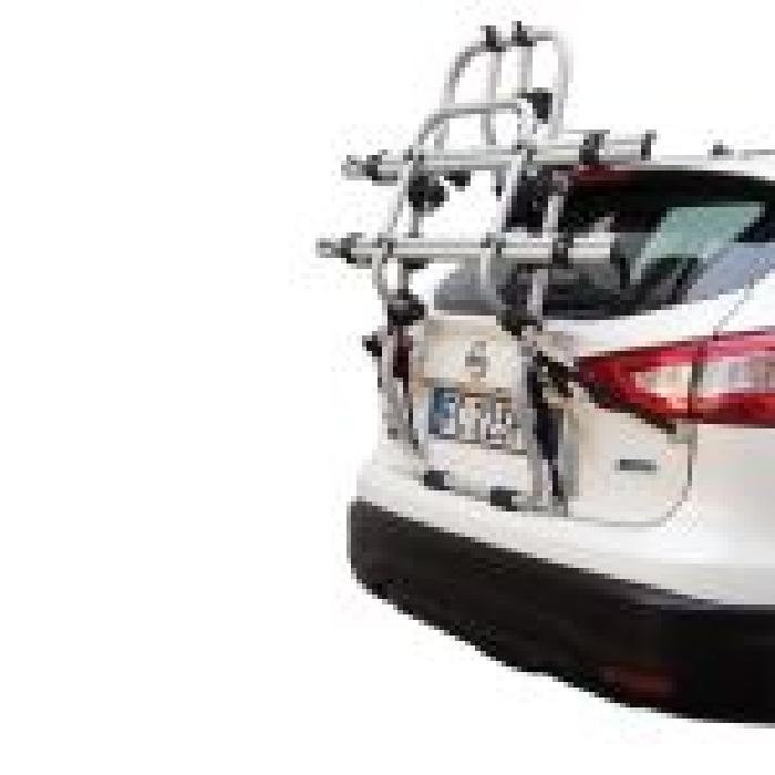 Kia Stonic, 5-T SUV Bj. 2020-, Fabbri Fahrradträger f. E- Bike- Elektrofahrrad für Heckträger für Kia Kia Stonic, 5-T SUV Bj. 2020- Heckträger als 2er E-Bike Träger