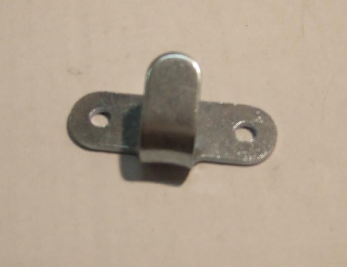 Abspannhaken, Planenhaken, Zweiloch, Metall, (4 Stk.)
