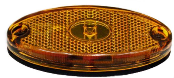 Aspöck- Flatpoint II, gelb, 90° Winkel 1,0