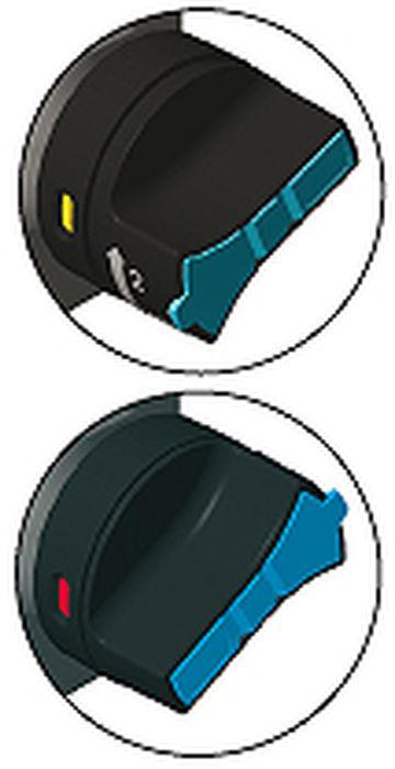 Handrad abschließbar ACS vertikal, 6er Ausführung, V4