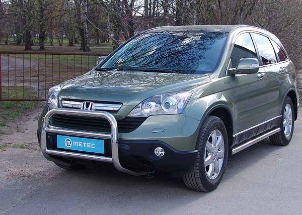 Frontschutzbügel Kuhfänger Bullfänger Honda CR-V 2010-2012, EuroBar 60mm Edelstahl