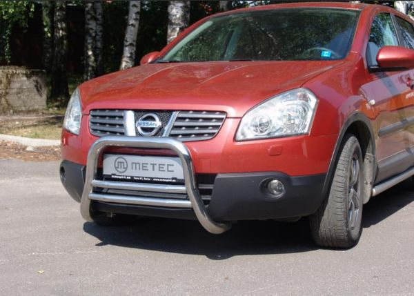 Frontschutzbügel Kuhfänger Bullfänger Nissan Qashqai 2010-2013, EuroBar 60mm Edelstahl