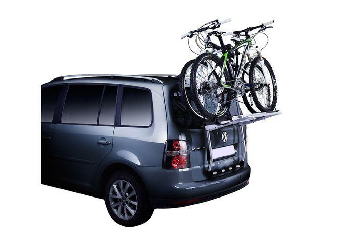 Opel Zafira Family, 5-T MPV Bj. 2011-2014, Thule Fahrradträger f. 3 Fahrräder