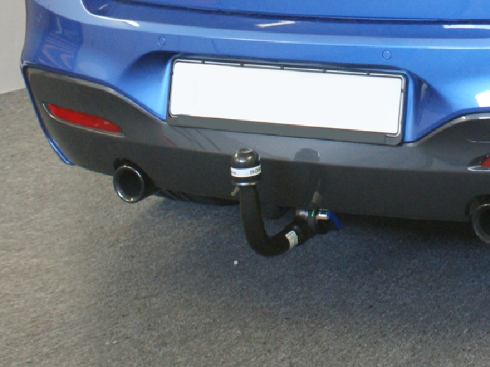 Anhängerkupplung BMW-2er F22 Coupe, speziell M235i xDrive nur für Heckträgerbetrieb, Montage nur bei uns im Haus, Baureihe 2014-2016 Ausf.:  vertikal