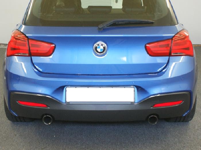 Anhängerkupplung BMW 2er F23 Cabrio, speziell M235i nur für Heckträgerbetrieb, Baureihe 2014-2016  vertikal