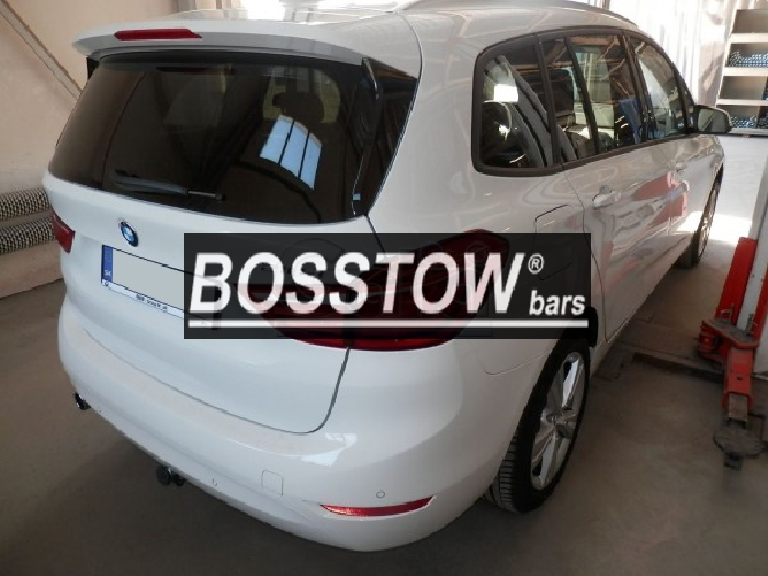 Anhängerkupplung für BMW-2er F45 Active Tourer, Baureihe 2014-  horizontal
