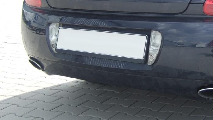 Anhängerkupplung Bentley-GTC Cabrio, nur für Heckträgerbetrieb, Montage nur bei uns im Haus, Baureihe 2006-2011 Ausf.:  vertikal