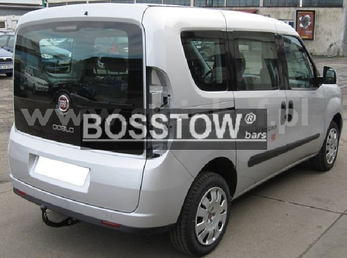 Anhängerkupplung Opel-Combo D, incl. Tour, Baureihe 2012-2018 Ausf.:  vertikal