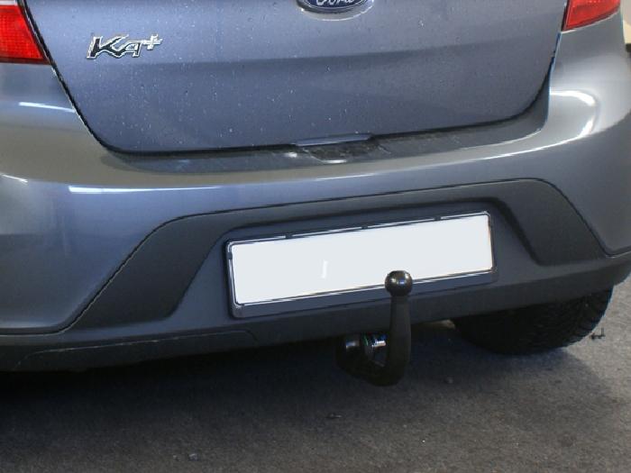 Anhängerkupplung Ford KA + Plus nur für Heckträgerbetrieb, Baureihe 2016-  vertikal