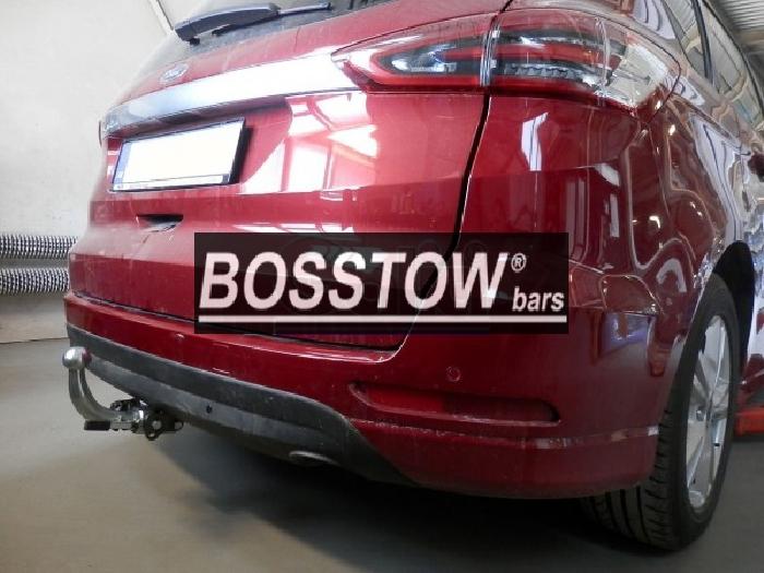 Anhängerkupplung Ford S-Max nicht Fzg. m. Fuss Sensor Heckklappe, Baureihe 2015-  horizontal