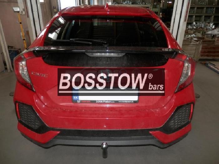 Anhängerkupplung Honda-Civic 5-türig, Fließh., Baureihe 2017-