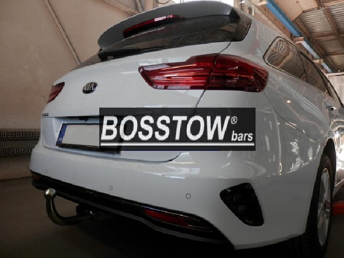 Anhängerkupplung Kia-Cee`d Sportswagon, ohne Elektrosatzvorbereitung, Baureihe 2018- Ausf.:  feststehend