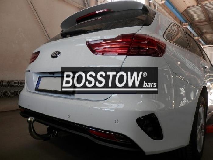 Anhängerkupplung Kia-Cee`d Sportswagon, mit Elektrosatzvorbereitung, Baureihe 2018- Ausf.:  horizontal