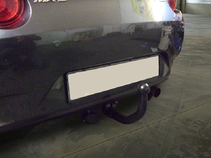 Anhängerkupplung Mazda-MX 5, ND nur für Heckträgerbetrieb, Baureihe 2015- Ausf.:  vertikal