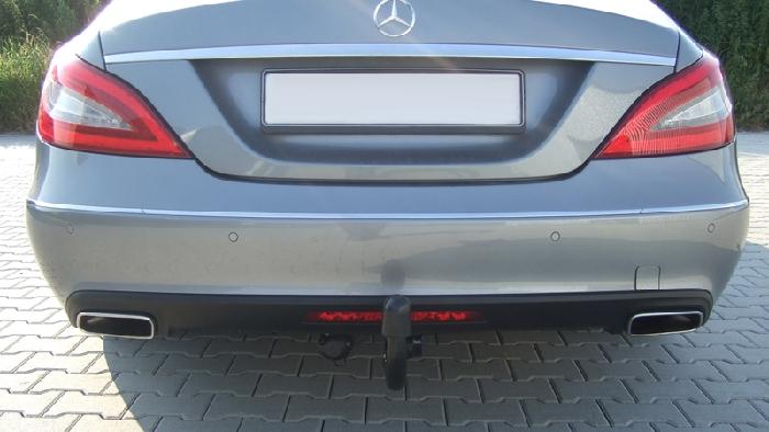 Anhängerkupplung Mercedes CLS W218, nur für Heckträgerbetrieb, Baureihe 2011-  vertikal