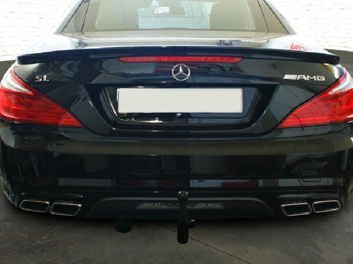 Anhängerkupplung Mercedes-AMG-AMG SL 63 R 231 Ausführung SL 63, nur für Heckträgerbetrieb, Montage nur bei uns im Haus, Baureihe 2012- Ausf.:  vertikal