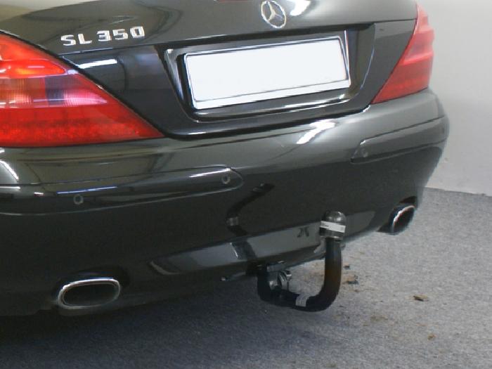 Anhängerkupplung Mercedes SL R 230 III, nur für Heckträgerbetrieb, Montage nur bei uns im Haus, Baureihe 2008-2011  vertikal