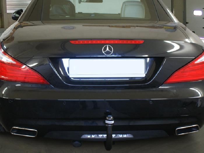 Anhängerkupplung Mercedes SL R 231, nur für Heckträgerbetrieb, Baureihe 2012-  vertikal
