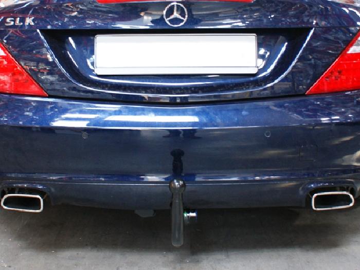 Anhängerkupplung Mercedes SLK R172 nur für Heckträgerbetrieb, Baureihe 2011-  vertikal