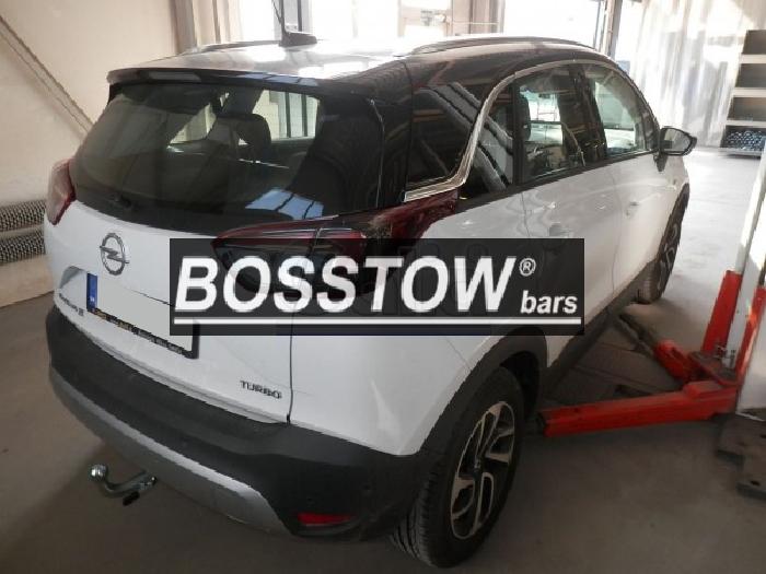 Anhängerkupplung Opel-Crossland X, Baureihe 2017-,  Ausf.:  horizontal