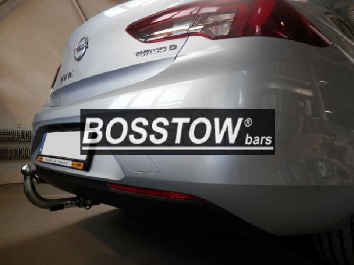 Anhängerkupplung Opel-Insignia B Grand Sport, Baureihe 2017- Ausf.:  horizontal