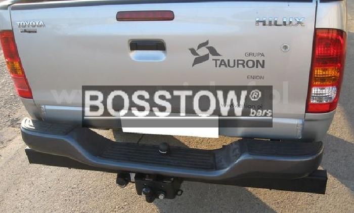 Anhängerkupplung für Toyota-Hilux VII. N25, N26, Fzg. m. Rohr- Unterfahrschutz, Baureihe 2005-2010  feststehend
