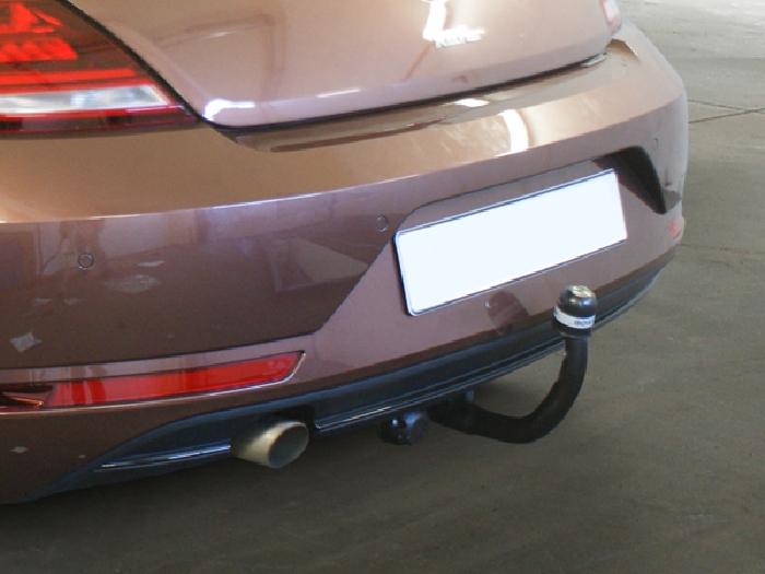 Anhängerkupplung VW-Beetle incl. Cabrio, 5C, nur für Heckträgerbetrieb, Baureihe 2011- Ausf.:  vertikal