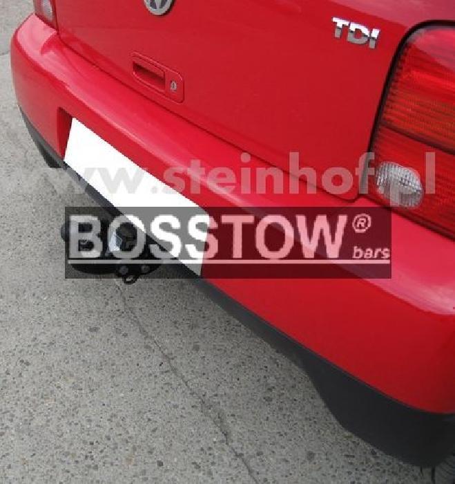 Anhängerkupplung für VW-Lupo nicht 1,2TDI und 1,4 16V und GTI, Baureihe 1998-2005  feststehend